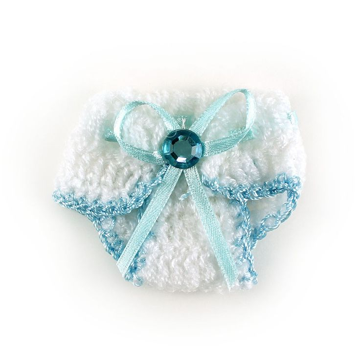 Maple Craft - Knit Crochet Mini Baby Diaper Baby Shower Party ...