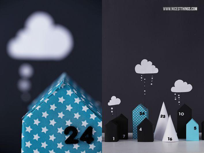 DIY: Winterstadt-Adventskalender