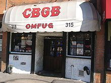 In early 1974, a new scene began to develop around the CBGB club, in lower Manhattan.