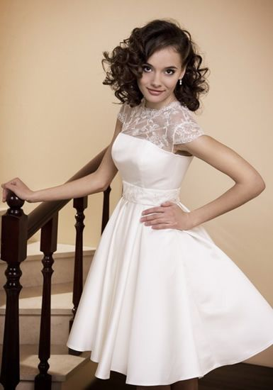 fashionable wedding medium length curly hairstyles trend autumn 2011