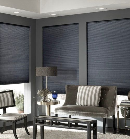 Cordless Double Cell Cellular Shades