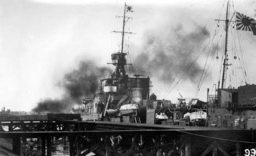 Japanese destroyer in Shanghai harbor. http://digitallibrary.usc.edu/cdm/ref/collection/p15799coll46/id/1447