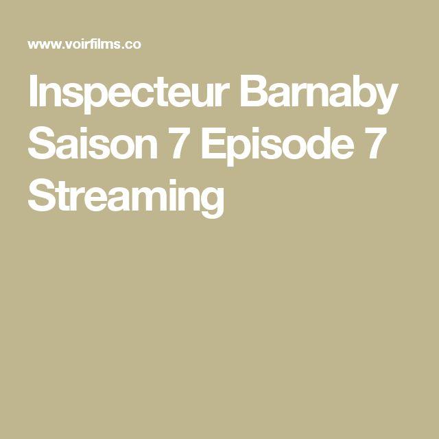 Inspecteur Barnaby Saison 7 Episode 7 Streaming