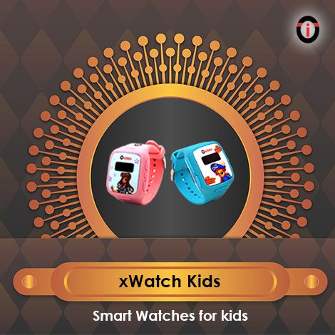 Gift your kids the freedom to go out and play without worrying about their safety. xWatch kids smartwatches from IOTEX