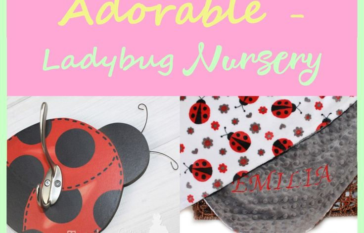 Ladybug Nursery - Ladybug Room - acraftylife.com