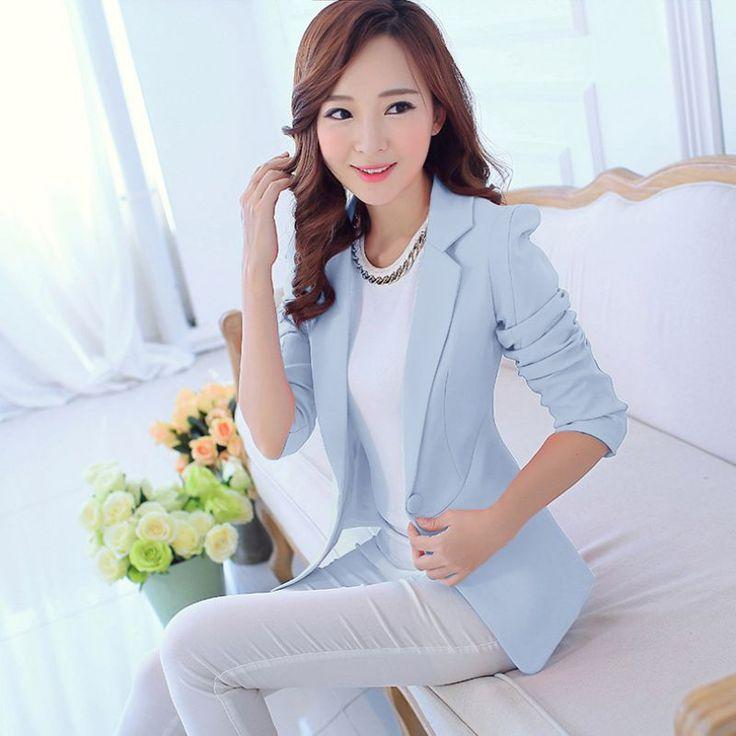 Women Blazers And Jackets Suit Spring Autumn Blaser Female Ladies Office Work Pink Blazer Femme