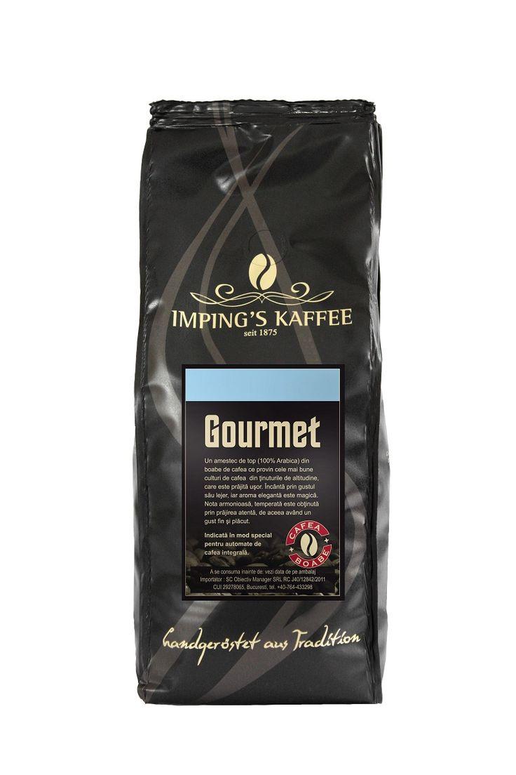 O cafea specială, adusă de pe cele mai bune plantaţii şi prăjită de maeştri. Tu ai prieteni care iubesc cafeaua bună? Recomandă-le prin Happy Share cafeaua Imping's Gourmet şi, pe lângă mulţumiri, vei primeşti şi 4% din vânzările generate.