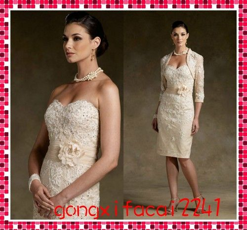 22 besten Kleider standesamt Bilder auf Pinterest | Brautkleid kurz ...