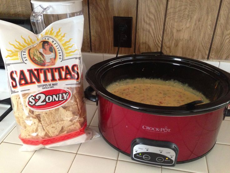 How to Cook a Velveeta Cheese Dip in the Crock Pot