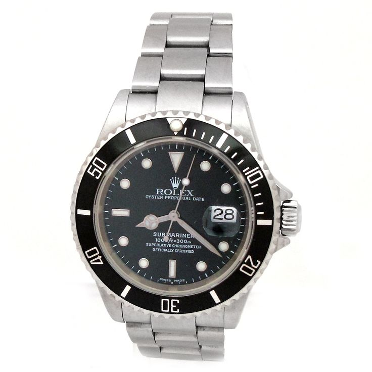 Refurbished Pre-owned Rolex Stainless Steel Submariner Watch