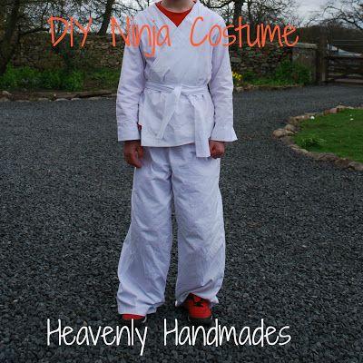 Heavenly Handmades: DIY Ninja Costume