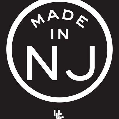 New Jersey (white) Art Print