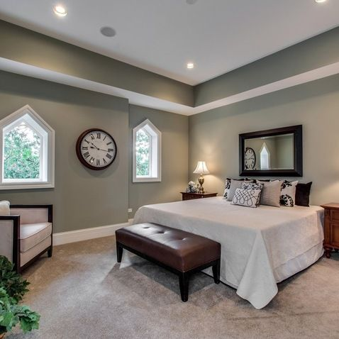 Interesting ceiling bulkhead paintwork look book Master bedroom ceiling colors