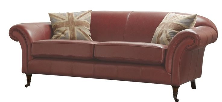 Hardy 3 Seater Leather Sofa