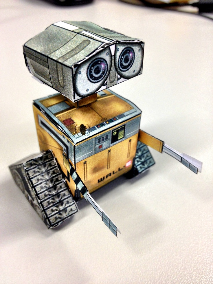 Wall-e Paper Toy