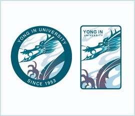 YONGIN UNIVERSITY 프로모션 엠블렘