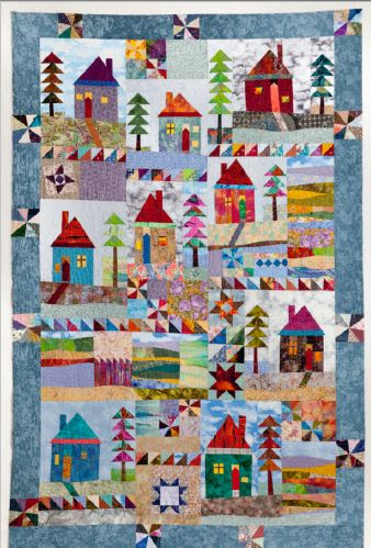 Katharine Guerrier: Patchwork Quilter: author and teacher.
