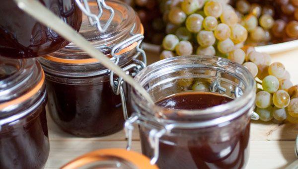 """#receta Jalea de uvas albariño """"Marqués de Vizhoja"""" vía Chef Miguel Oliveira <3 Albariño Grapes #jam #recipe"""