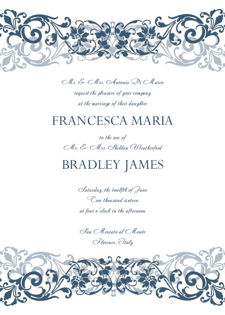 103 best card images on Pinterest Mexican wedding invitations - marriage invitation letter format