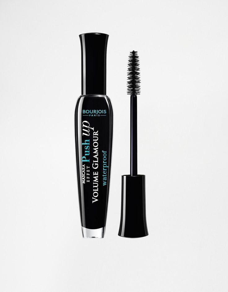 Volume Glamour Effect Push-Up Waterproof mascara by Bourjois Uplifting brush Waterproof formula coats lash by lash For boosted volume and length