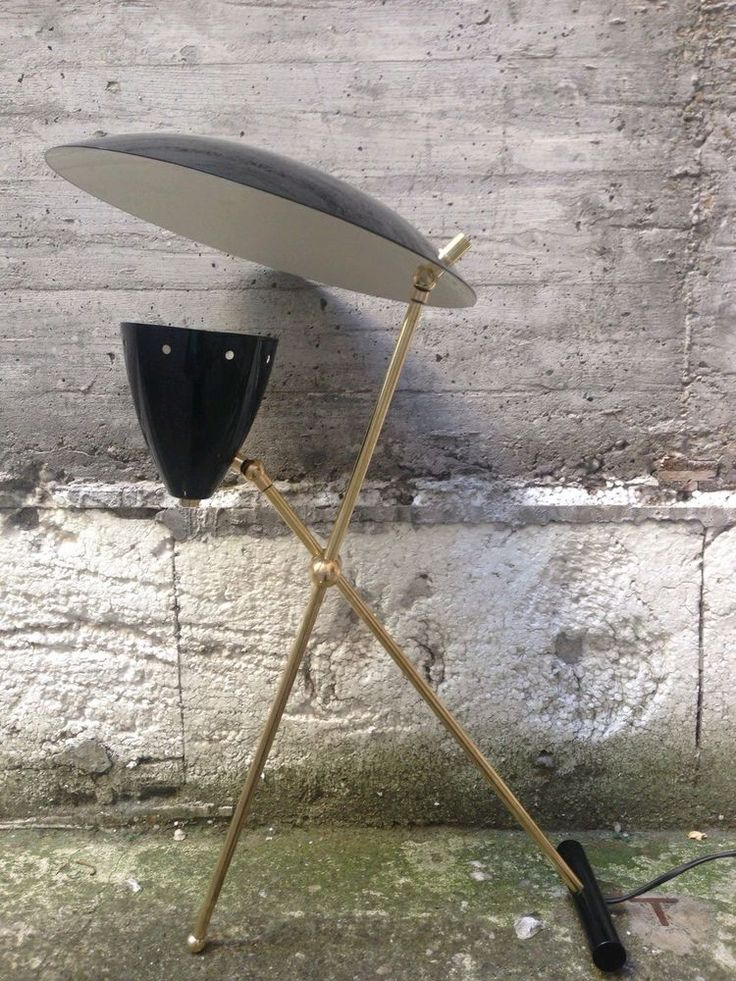 Dettagli su Lampada da tavolo vintage, Stilnovo design ...