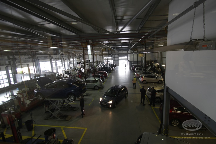 Our fully trained technicians caring for your car at Essex Auto Group.
