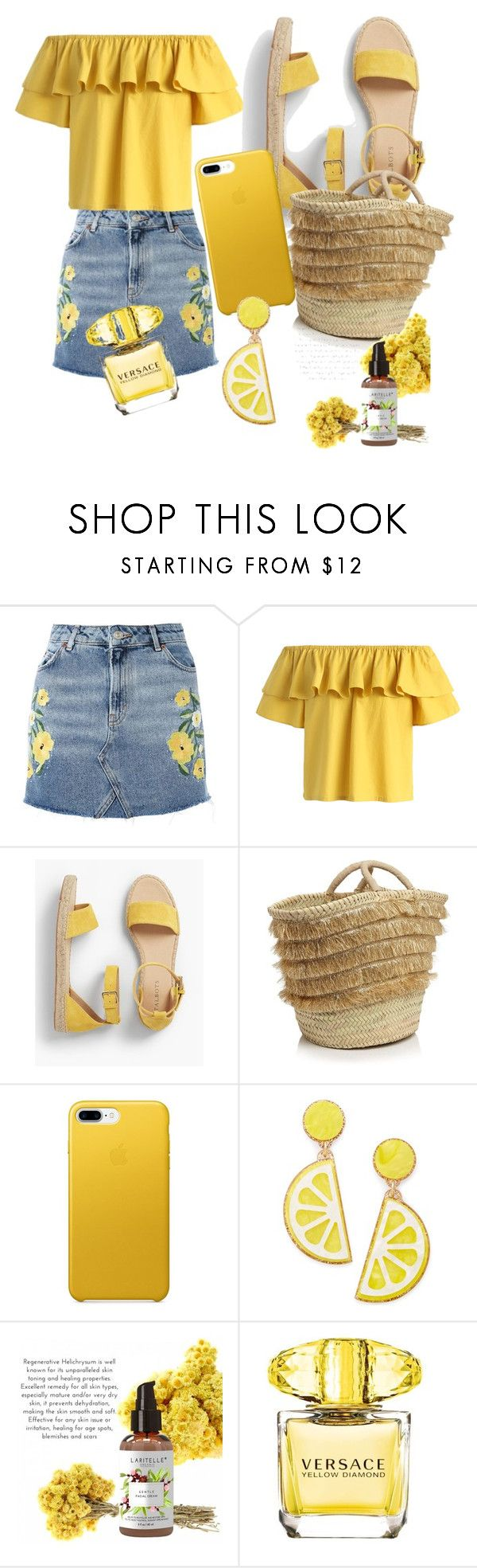 """""""Untitled #24"""" by androsales24 on Polyvore featuring Topshop, Chicwish, Talbots, Caterina Bertini, Celebrate Shop and Versace"""