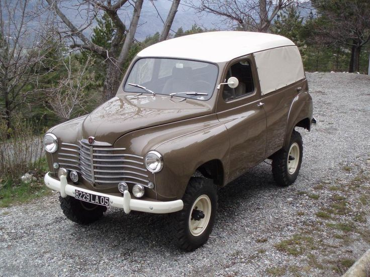 Renault COLORALE 4X4 SAVANE 1953 ✏✏✏✏✏✏✏✏✏✏✏✏✏✏✏✏ AUTRES VEHICULES - OTHER…
