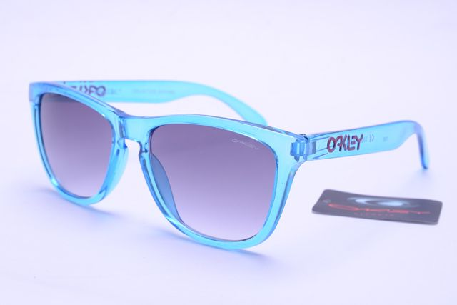 Oakley Frogskins Sunglasses Blue Frame Gray Lens 0387  only $19.00  Save: 83% off