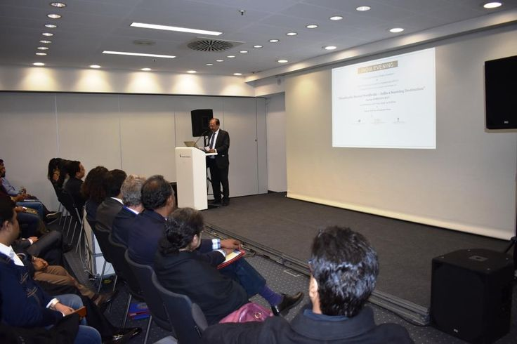 Mr. Rakesh Kumar, Executive Director EPCH made a special presentation highlighting Indian capabilities in the handicrafts sector for meeting requirements of the world market during the seminar on 'Handicrafts Market Worldwide – India a Sourcing Destination' on 10th February, 2017 at Messe Frankfurt Trade Fair Ground. — at Messe Frankfurt.
