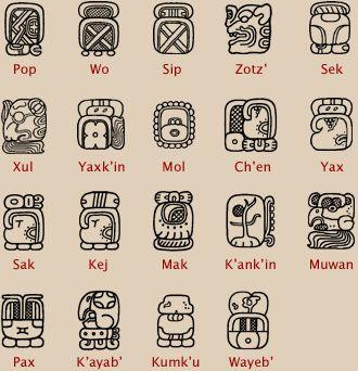 calendrier solaire haab maya