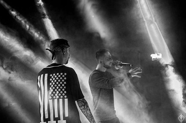 "#shoutout @sorakrodriguez reppin our ""Amerikunt"" Jersey on stage ✌️ Check Sorak's latest music vid ""Xelate"" prod. by Young Saints @weareys  Amerikunt Baseball Jersey available at www.crmcclothing.co  #hiphop #bass #trap #dubstep #MC #rap #rapartist #Spanish #spanishhiphop #spanishlove #afrotrap #bassbeat #basssound #sound #beat #tune #fire #dope #alternative #altwear #alt #alternativegirl #alternativeboy #alternativeteen #420 #lit #710 #blazed"