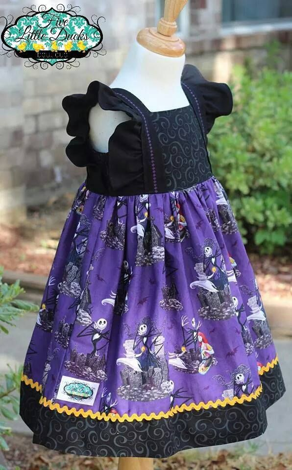Nightmare Before Christmas Dress   Five Little Ducks Boutique   Pinterest   Products Before ...