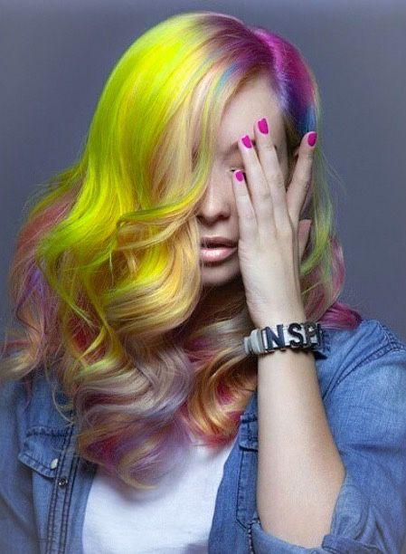 Neon hair 2015