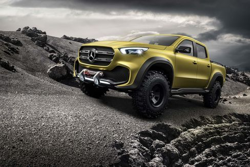 Mercedes pick up truck