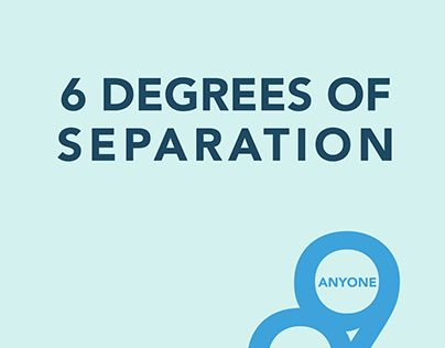 """Check out new work on my @Behance portfolio: """"Six Degrees of Separation"""" http://be.net/gallery/34196121/Six-Degrees-of-Separation"""