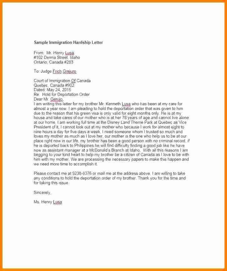 Sample Pardon Letters Fresh 11 Immigration Pardon Letter Sample Dannybarrantes Template Lettering Letter Example Letter Sample