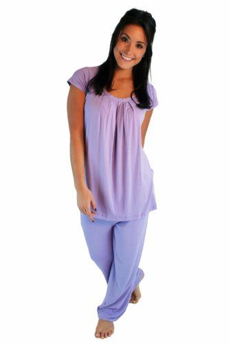 summer fashions for women over 50 | ... women purple pajamas gifts for older women over 50 Bamboo Bliss 0052