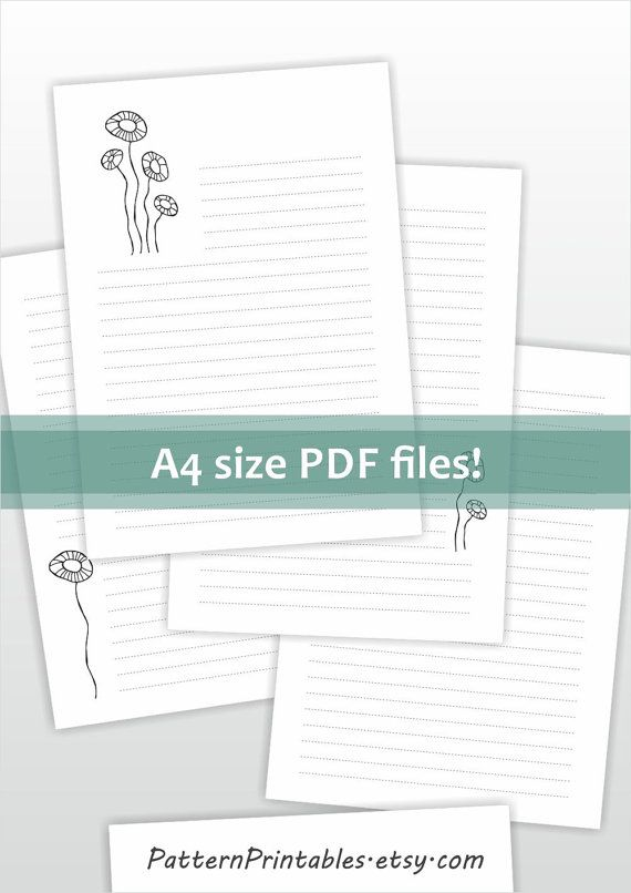 27 best Stationery And Printables images on Pinterest Contact - letters in pdf