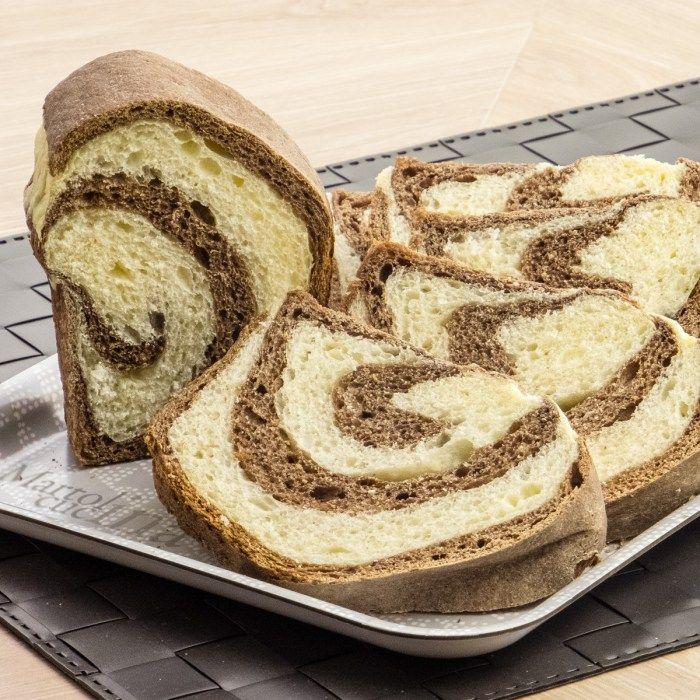 Pan brioche vaniglia e cacao - Ricette Blogger Riunite
