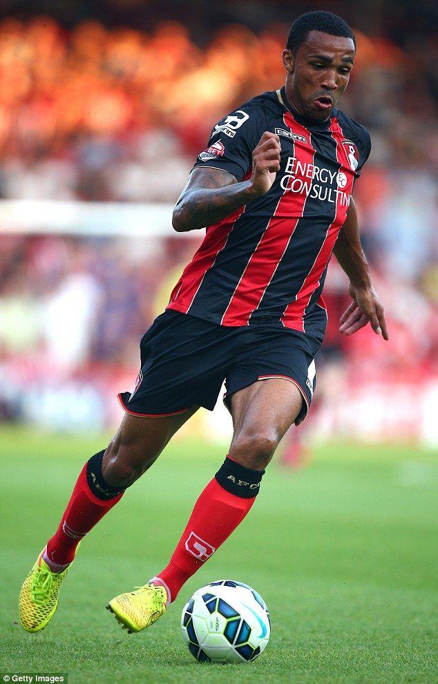 Callum Wilson, Bournemouth v West Ham United 22nd August 2015.