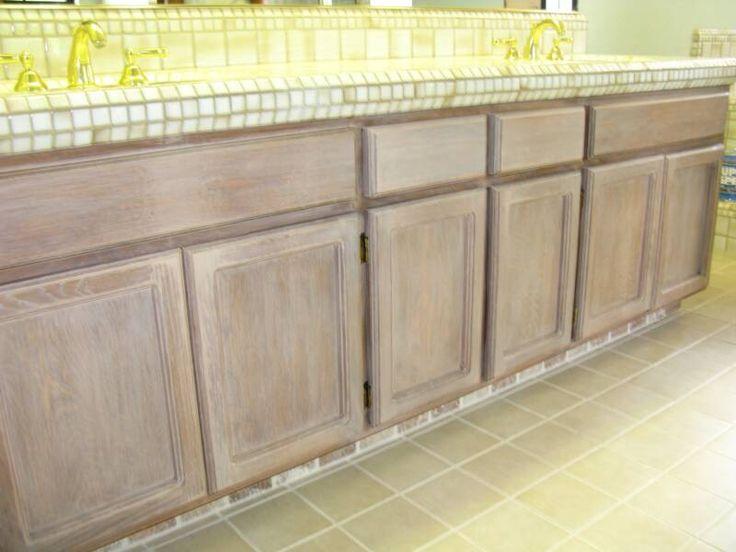 whitewash oak cabinet | Furniture & Floor Finisnes