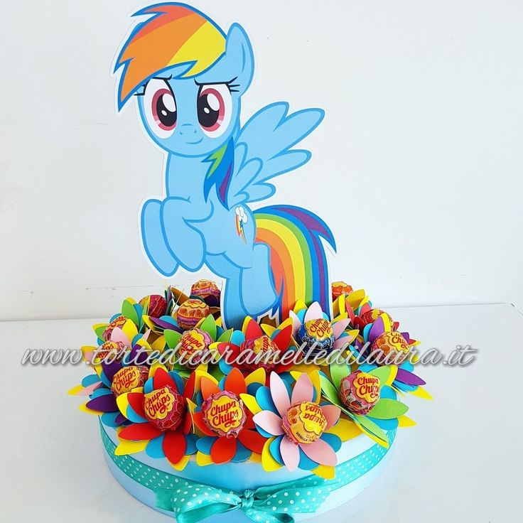Chupachups Rainbowdash My Little Pony