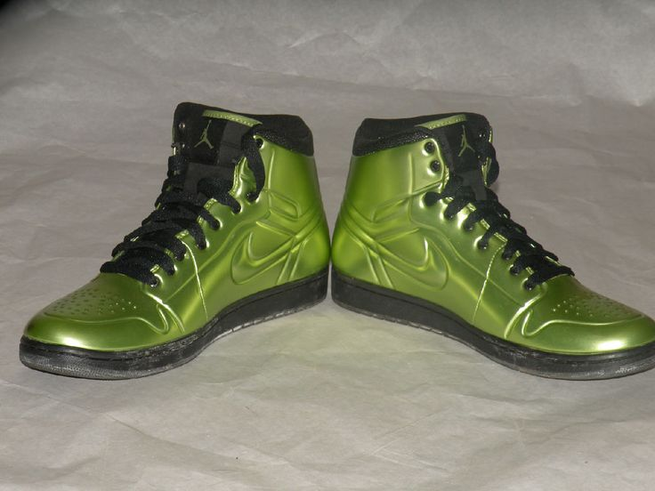 separation shoes de1ed b046f ... Aj 1 Anodized sz 12 Nike Air Jordan 1 I Anodized foamposite Altitude  Green xiii bred NikeJordan ...