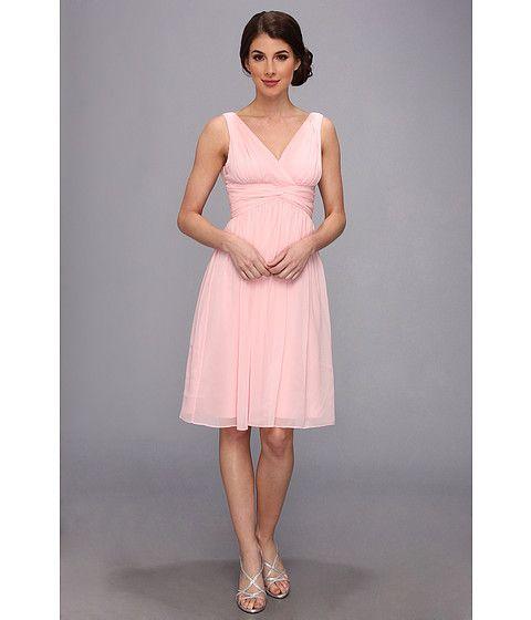 Donna Morgan Jessie Silk Chiffon Dress