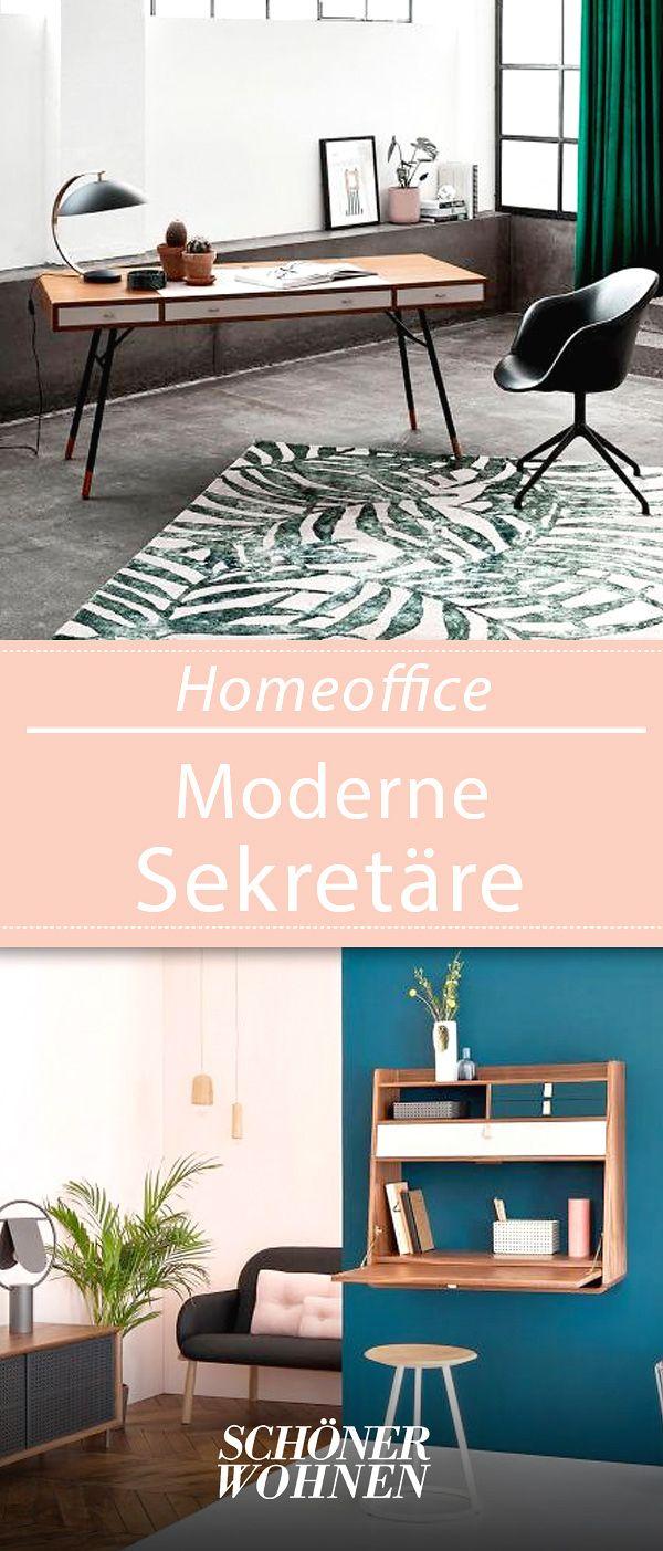 Sekretare Mit Schonem Design Haus Deko Einrichten Und Wohnen Und Schoner Wohnen