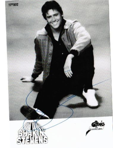 Shakin-Stevens-early-USA-Epic-promo-8x10-inch-glossy-photo-for-2nd-or-3rd-LP