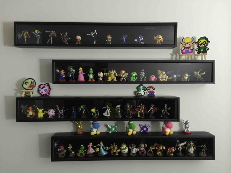 Took advantage of the Michaels sale, this is the result! (amiibo display)
