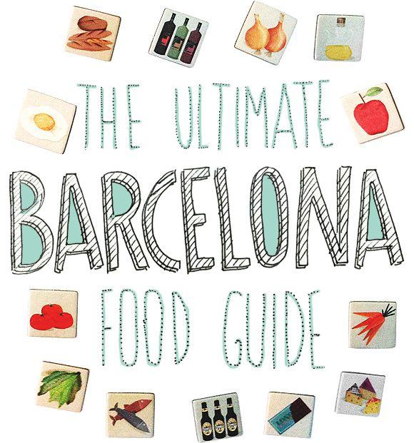The Ultimate Barcelona Food Guide by ohomycake-helsinki #Food #Barcelona #Spain