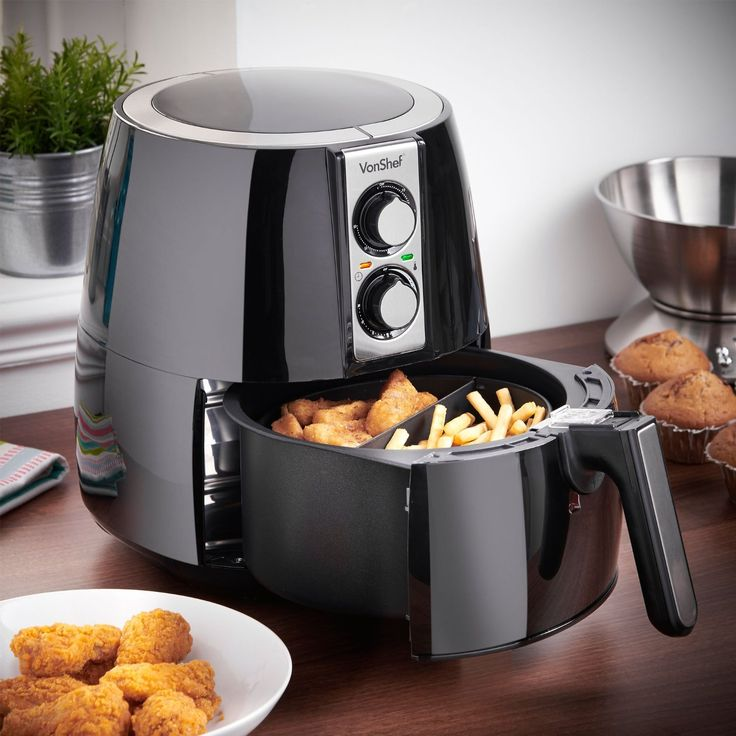 Air Fryer 2 75 Qt Cook Healthy Low Fat Meals Without Oil Recipe Book Included